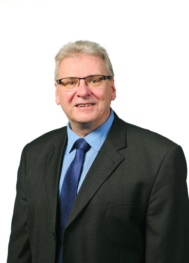 Hans-Jürgen Straub (SPD), 1. Beigeordnete der Stadt Nieder-Olm